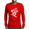 Gaara Love Kanji Mens Long Sleeve T-Shirt