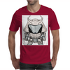 Galactic Samurai Warrior Mens T-Shirt