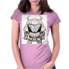 Galactic Samurai Warrior Womens Fitted T-Shirt