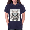 Galactic Samurai Warrior Womens Polo