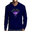 Galaxy Melting Diamond Mens Hoodie