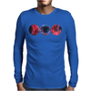 Galaxy Print Tee HIPSTER INDIE SWAG Mens Long Sleeve T-Shirt
