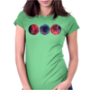 Galaxy Print Tee HIPSTER INDIE SWAG Womens Fitted T-Shirt