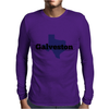 Galveston Texas. Mens Long Sleeve T-Shirt