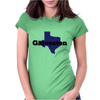 Galveston Texas. Womens Fitted T-Shirt