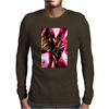 Gambit Superhero X-Men Movie Card Mens Long Sleeve T-Shirt