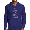 Game of thrones Arya Stark A Girl has no Name Mens Hoodie