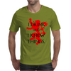 GAME OF THRONES DRINK AND I KNOW THINGS TYRION LANNISTER Mens T-Shirt