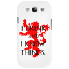 GAME OF THRONES DRINK AND I KNOW THINGS TYRION LANNISTER Phone Case