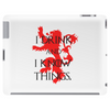 GAME OF THRONES DRINK AND I KNOW THINGS TYRION LANNISTER Tablet