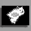 Game of Thrones Game of Doge Poster Print (Landscape)