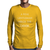 Game of thrones Hodor Hold the door Mens Long Sleeve T-Shirt