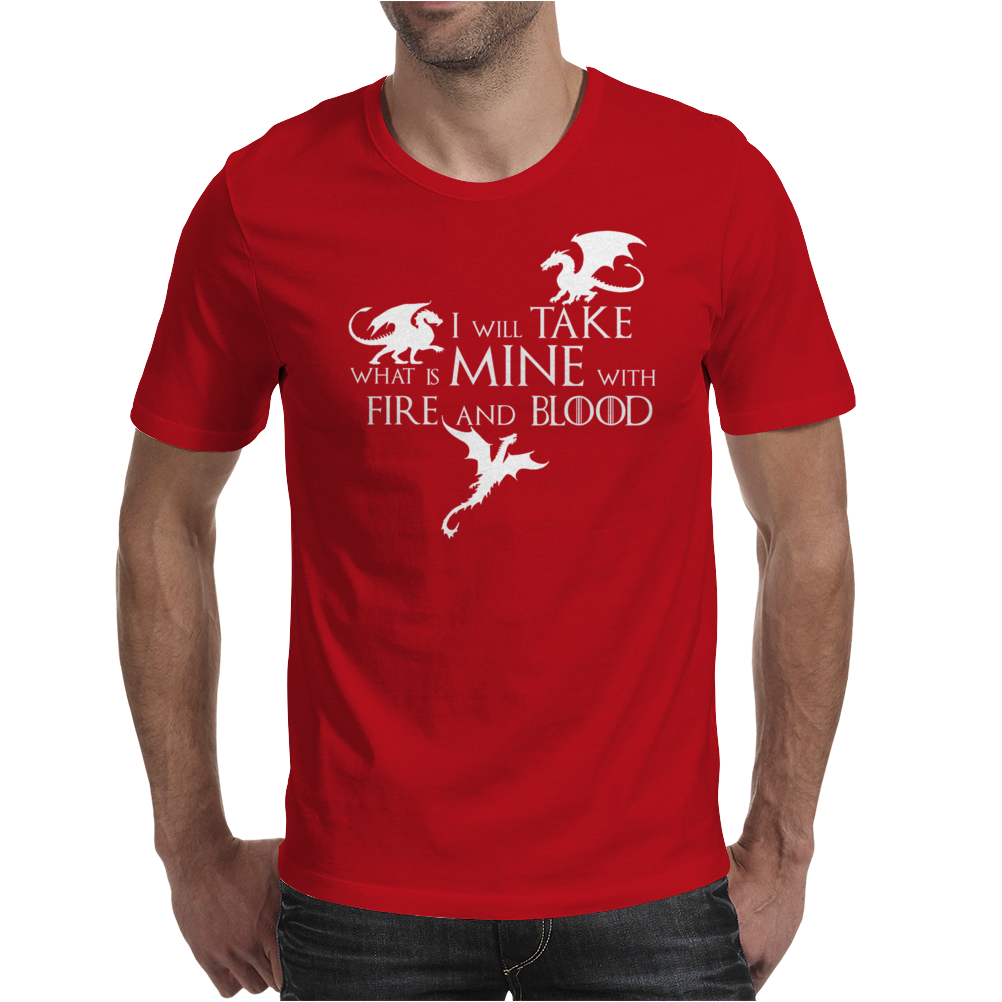 Game of Thrones Khalisee I will take what is mine Mens T-Shirt
