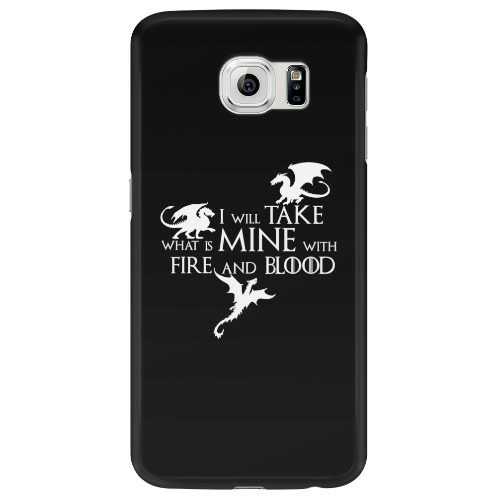 Game of Thrones Khalisee I will take what is mine Phone Case