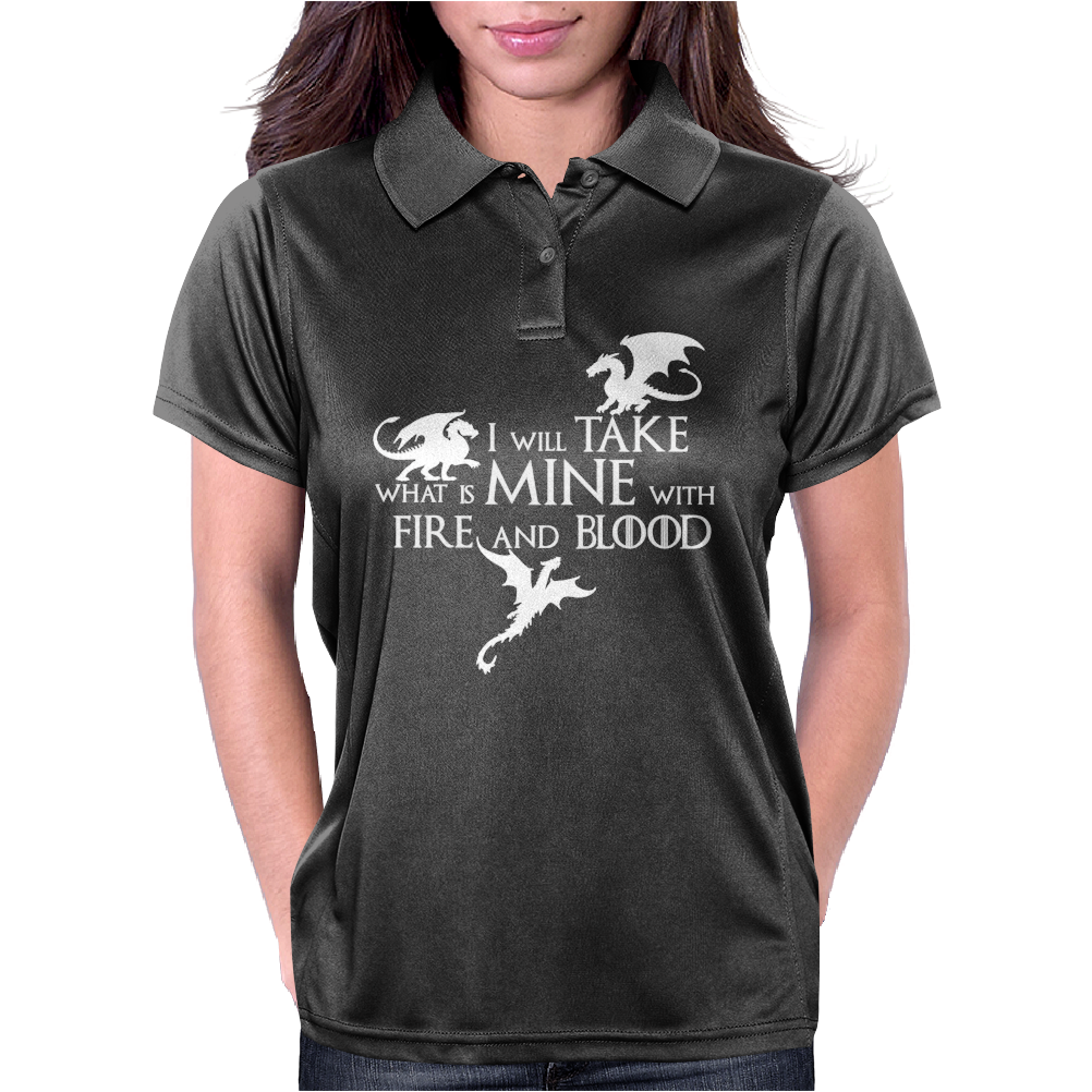 Game of Thrones Khalisee I will take what is mine Womens Polo