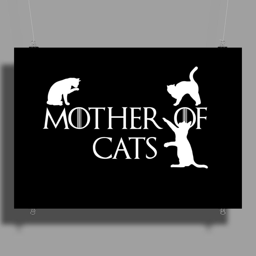 Game of Thrones Khalisee Mother of Cats Poster Print (Landscape)