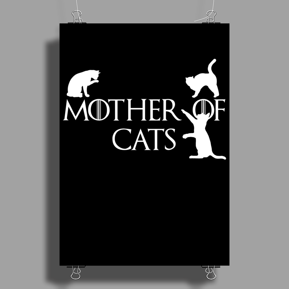 Game of Thrones Khalisee Mother of Cats Poster Print (Portrait)