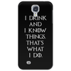 Game of Thrones Tyrion Lannister Drink and Know Things Phone Case