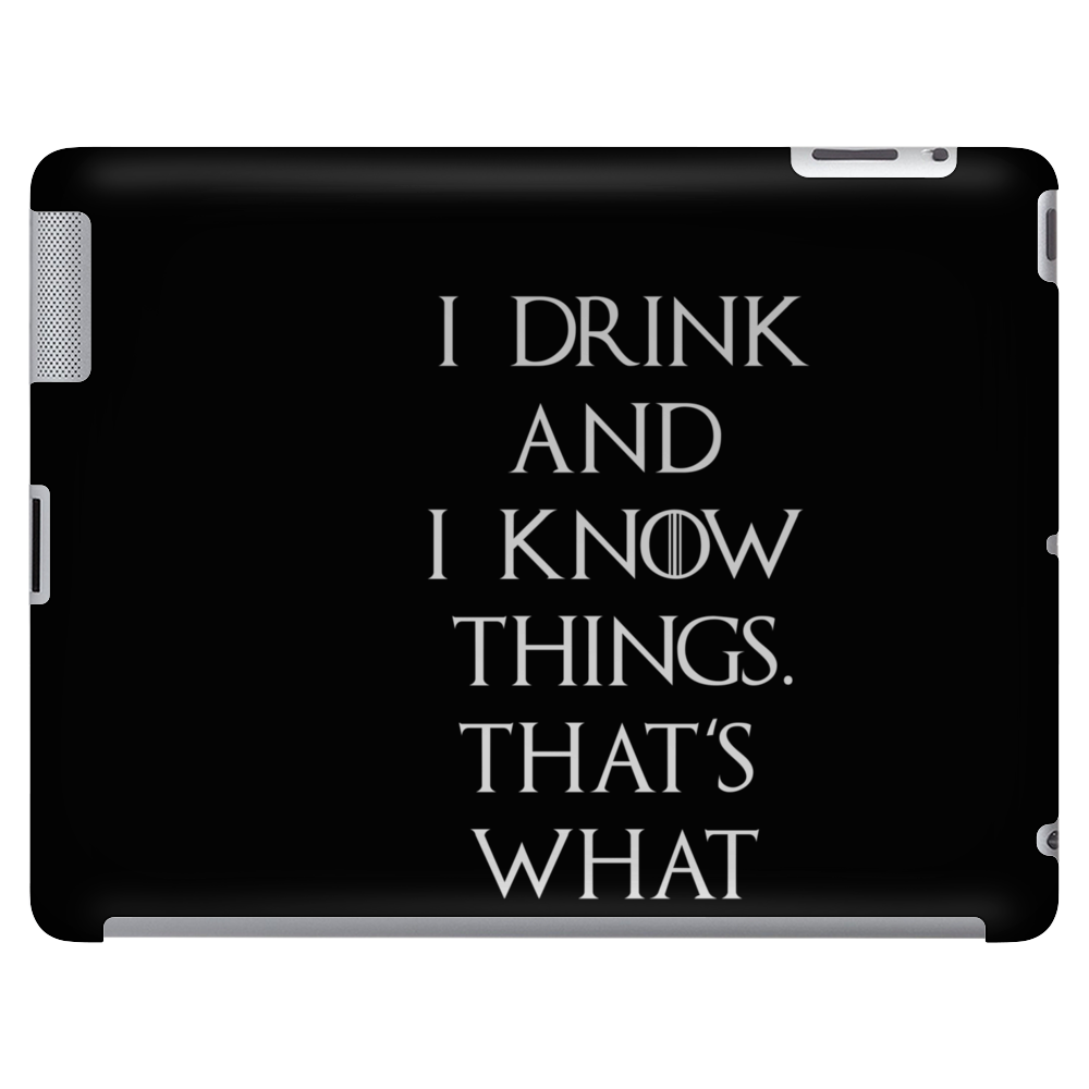 Game of Thrones Tyrion Lannister Drink and Know Things Tablet
