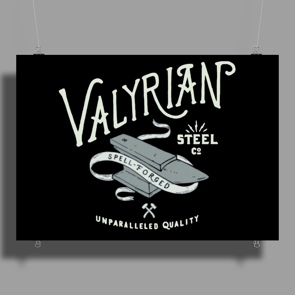 Game of thrones Valyrian Steel Poster Print (Landscape)