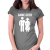 Game Over Funny Womens Fitted T-Shirt