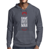 Game Over Man Mens Hoodie