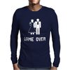 GAME OVER Mens Long Sleeve T-Shirt