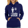 Game Over Womens Hoodie