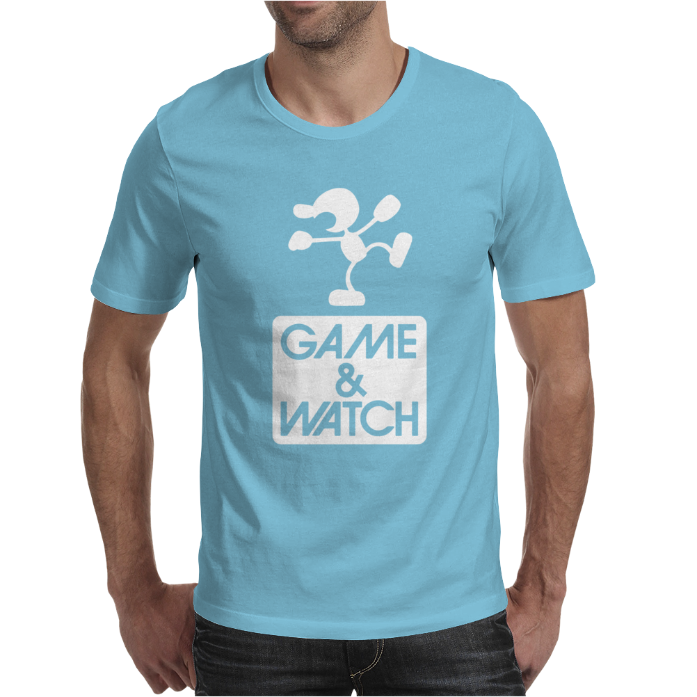 Game & Watch Tribute Mens T-Shirt