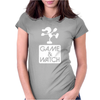 Game & Watch Tribute Womens Fitted T-Shirt