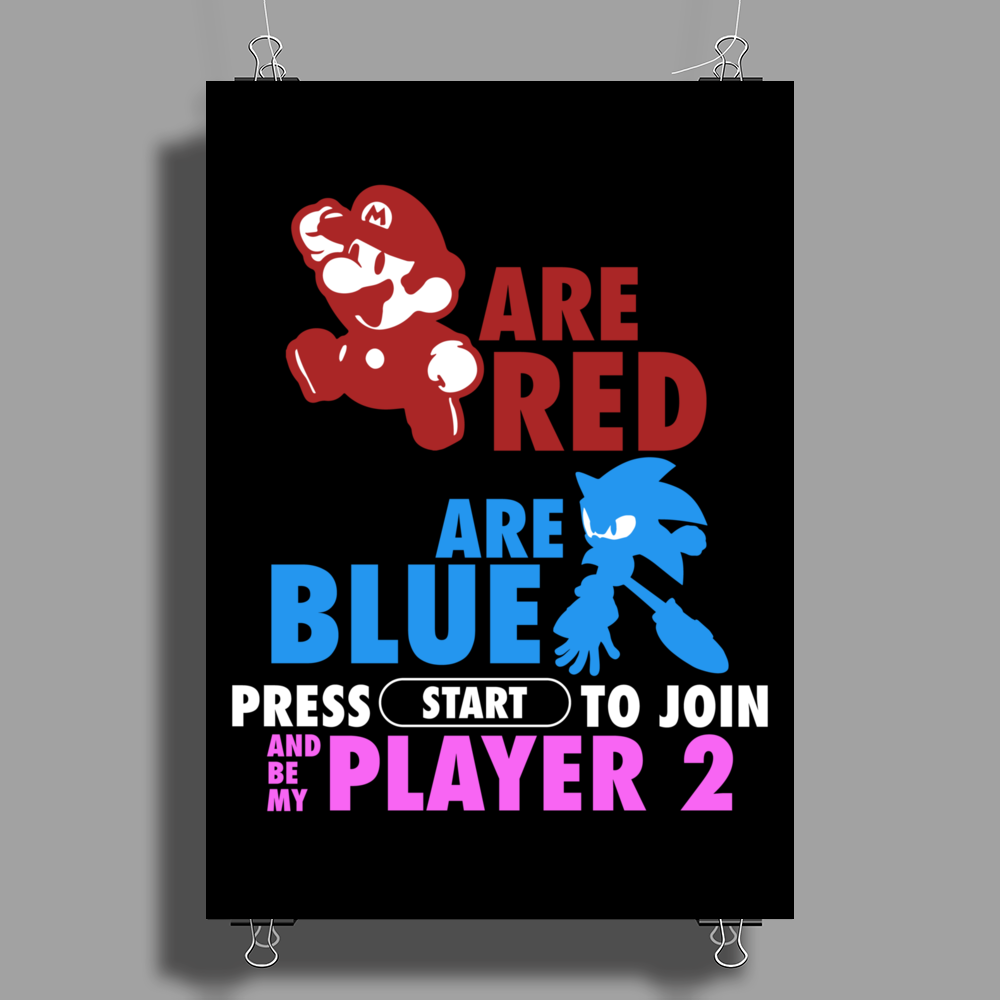 Gamer Version (Poem) Poster Print (Portrait)