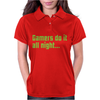 Gamers Do It All Night Womens Polo