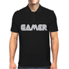 Gamert - funny comic console gamers Mens Polo