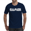 Gamert - funny comic console gamers Mens T-Shirt