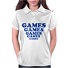 Games Games Games Womens Polo