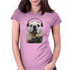 Gaming Bulldog Womens Fitted T-Shirt