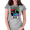 Gaming God Womens Fitted T-Shirt