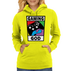 Gaming God Womens Hoodie