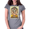 Ganesha Womens Fitted T-Shirt