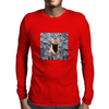 Gangsta Kitten Mens Long Sleeve T-Shirt