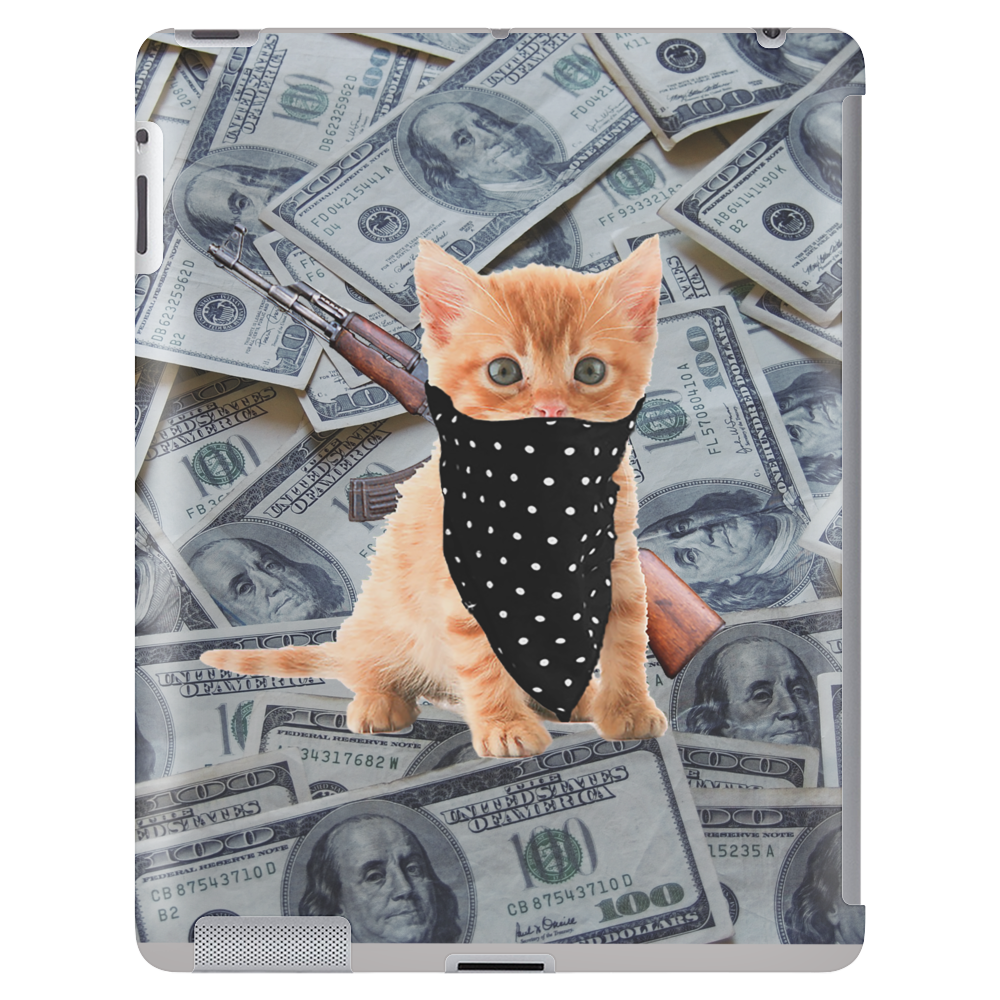 Gangsta Kitten Tablet (vertical)