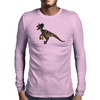 Gangsta' Raptor Mens Long Sleeve T-Shirt
