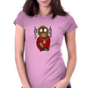 Gangster Ape Womens Fitted T-Shirt
