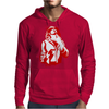 Gangster Gun At His Throat Mens Hoodie
