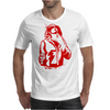 Gangster Gun At His Throat Mens T-Shirt