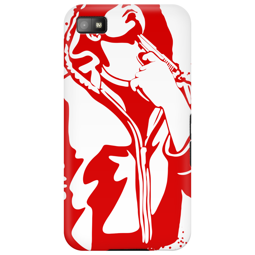 Gangster Gun At His Throat Phone Case
