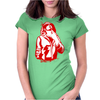 Gangster Gun At His Throat Womens Fitted T-Shirt