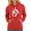 Gangster Gun At His Throat Womens Hoodie