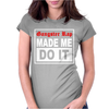 Gangster Rap Made Me Do It Womens Fitted T-Shirt