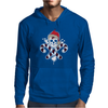 Gangster Skull and Crossbones Christmas Pirate Mens Hoodie